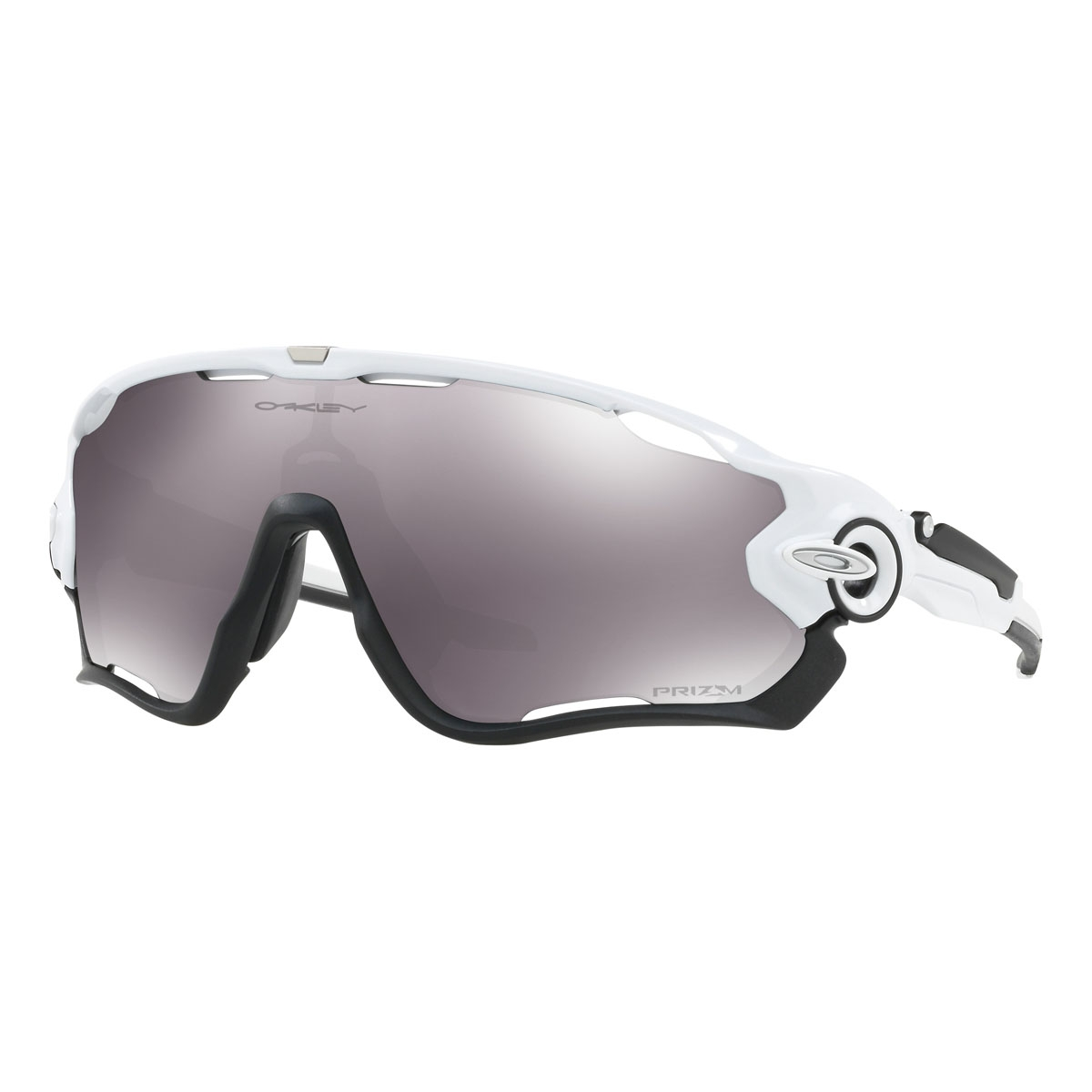 d94c8eb20e Image of Oakley Jawbreaker Prizm Sunglasses - Polished White Frame Prizm Black  Lens ...