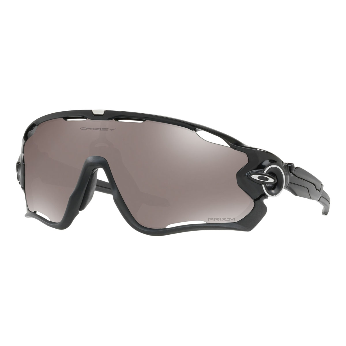 db2fd2900ae Image of Oakley Jawbreaker Prizm Polarised Sunglasses - Polished Black  Frame Prizm Black Polarized Lens