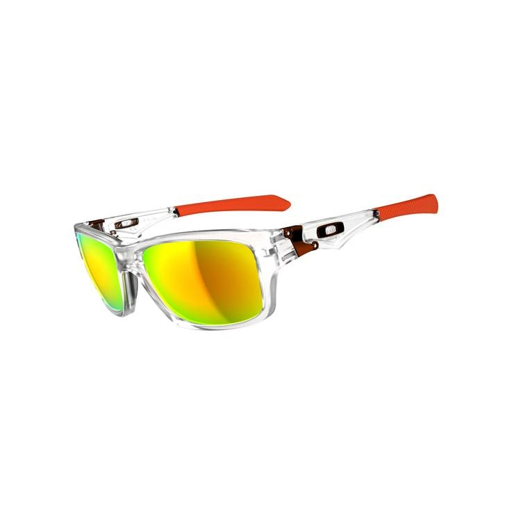 0d243d7eef Image of Oakley Jupiter Squared Men s Sunglasses - Matte Clear   Fire  Iridium