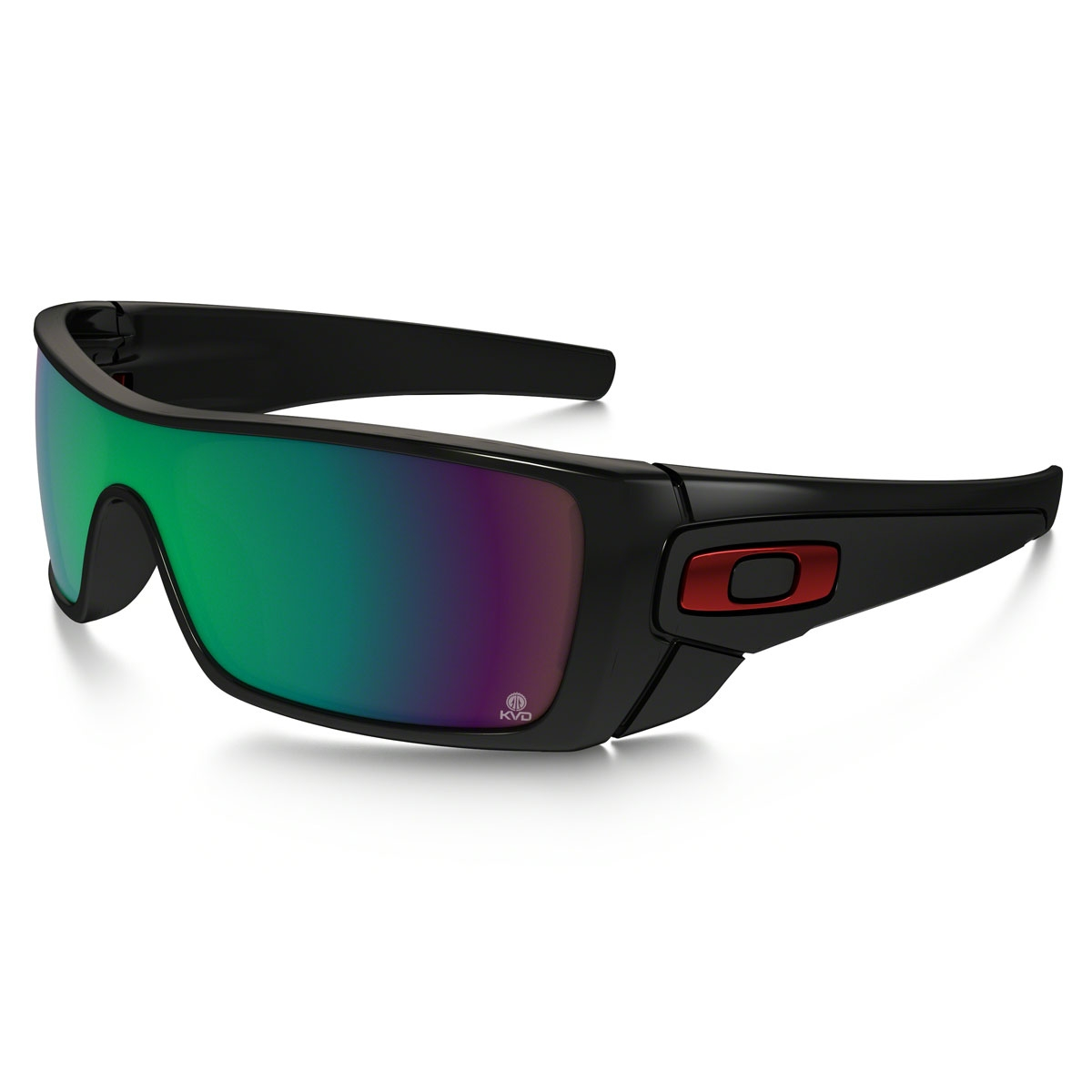 80ea856ebad Image of Oakley KVD Batwolf Sunglasses - Polished Black   Prizm Shallow  Water Polarized