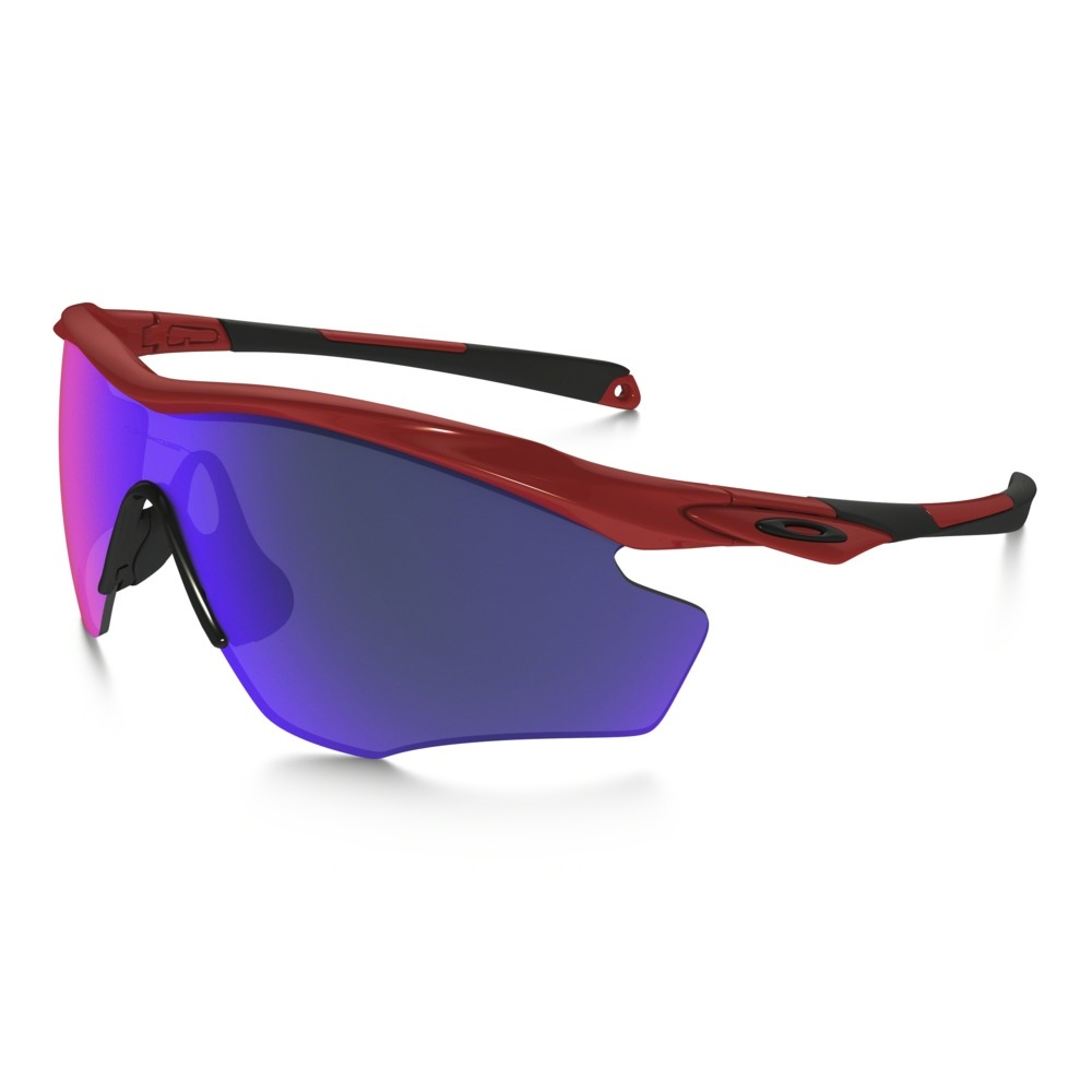 f98f212052d Image of Oakley M2 Frame XL Sunglasses - Redline Frame Positive Red Iridium  Lens