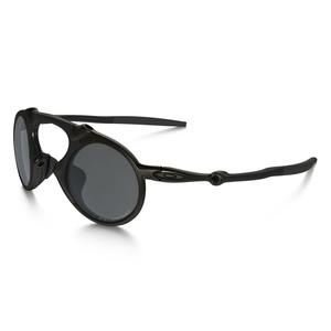 c9f8da57a4b Image of Oakley Madman Polarized Sunglasses - Pewter Frame Black Iridium  Polarized Lens