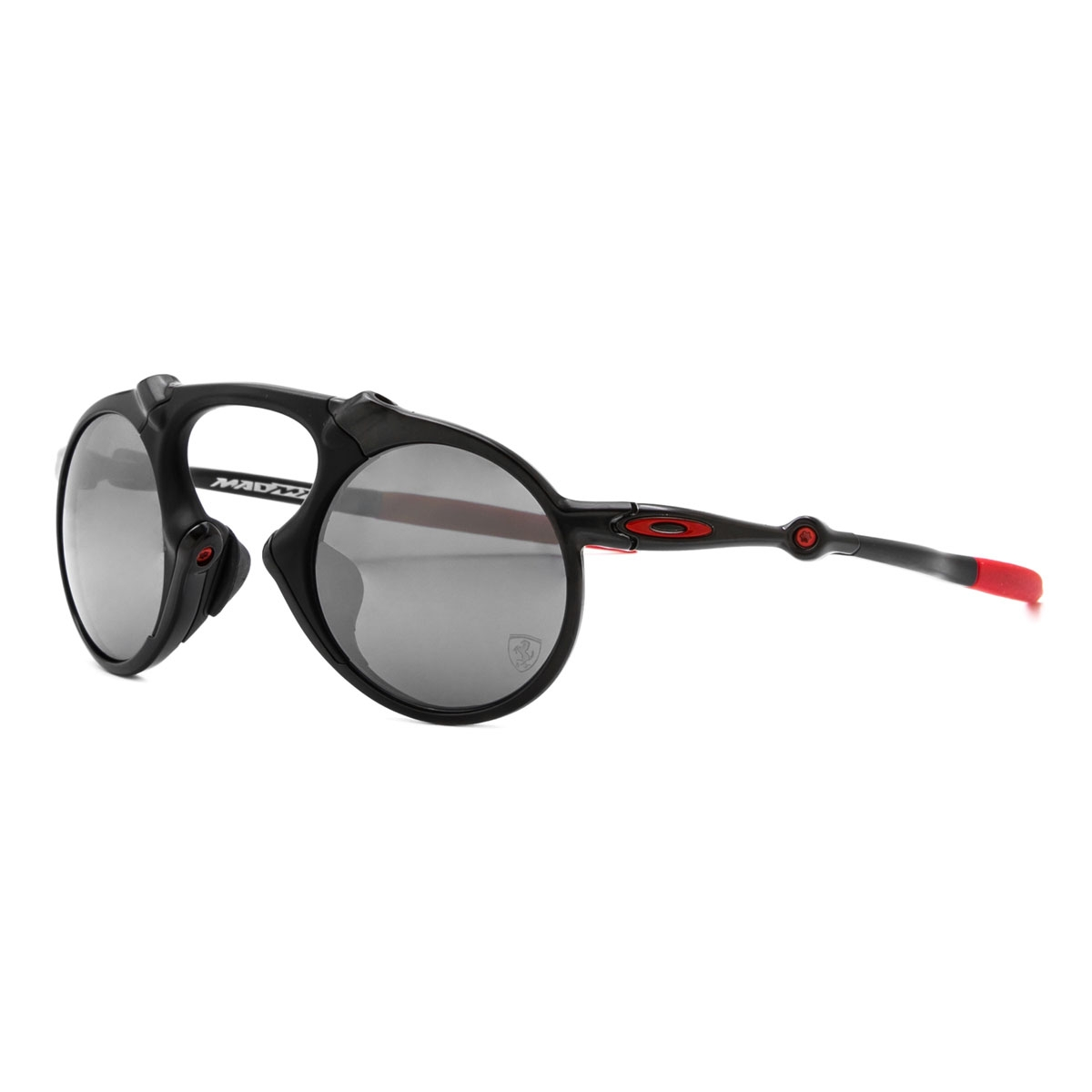 3fe550b0e5 Image of Oakley Madman Scuderia Ferrari Collection Polarized Sunglasses -  Dark Carbon Frame Black Iridium