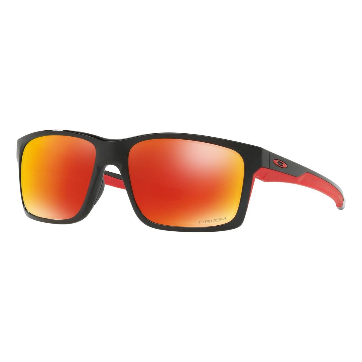 b040ebc34f Image of Oakley Mainlink Prizm Polarised Sunglasses - Polished Black Frame  Prizm Ruby Polarized Lens ...