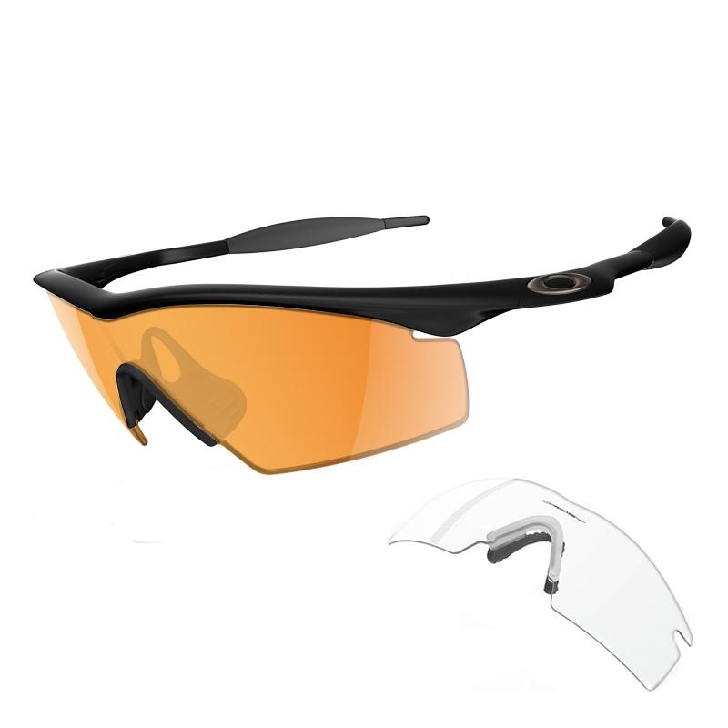 Oakley New M-Frame Custom Men\'s Shooting Glasses - Jet Black Frame ...