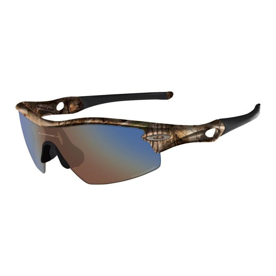 e989bbf9db Image of Oakley Radar Pitch Men s Polarized Sunglasses - Woodland Camo    Shallow Blue Polarized