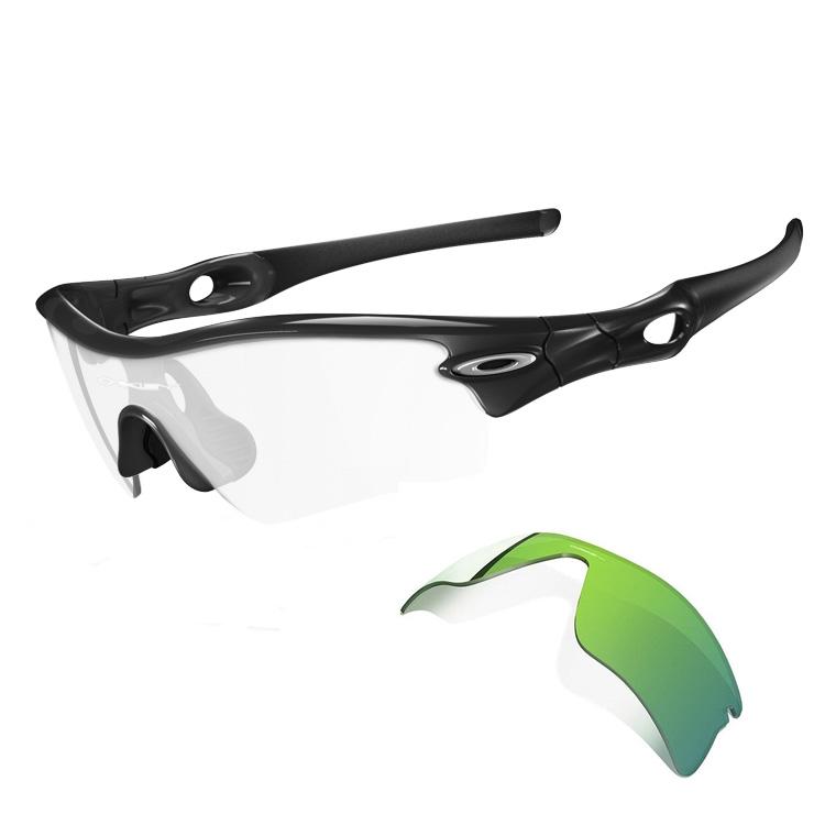 Oakley Radar Range Men\'s Sunglasses - Jet Black Frame Plus G26 ...