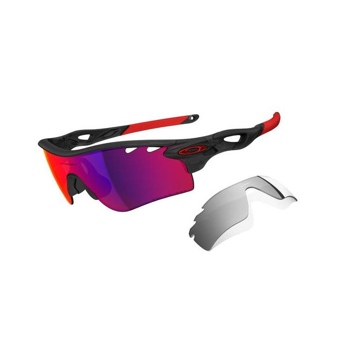 Oakley Radarlock Path >> Oakley Radarlock Path Vented Men S Polarized Sunglasses Matte Black Ink Frame Oo Red Polarzied Black Iridium Lens