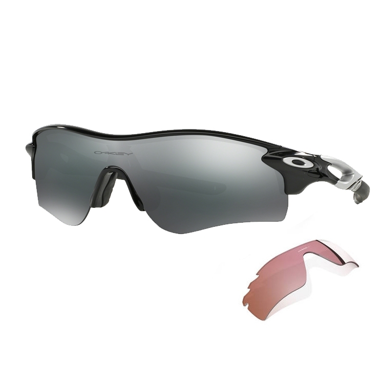 Oakley Radarlock Path >> Oakley Radarlock Path Men S Sunglasses Polished Black Black Iridium Vr28