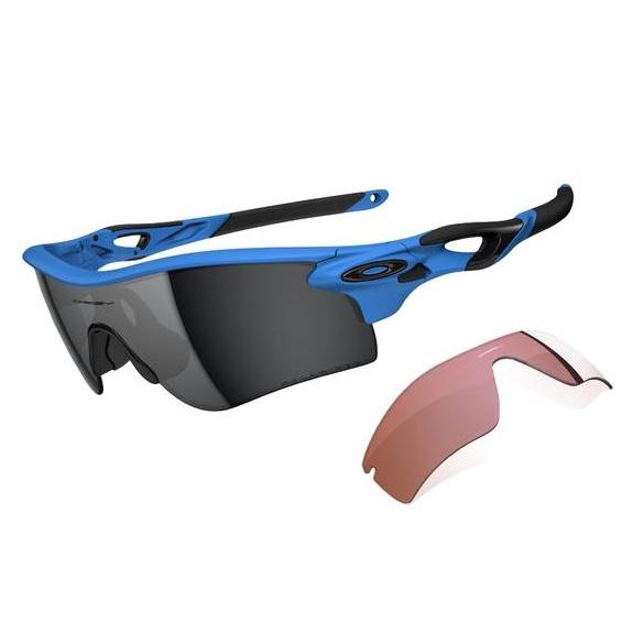 da2ceeab92 Image of Oakley Radarlock Path Men s Polarised Sunglasses - Matte Glacier   Black  Iridium and G40