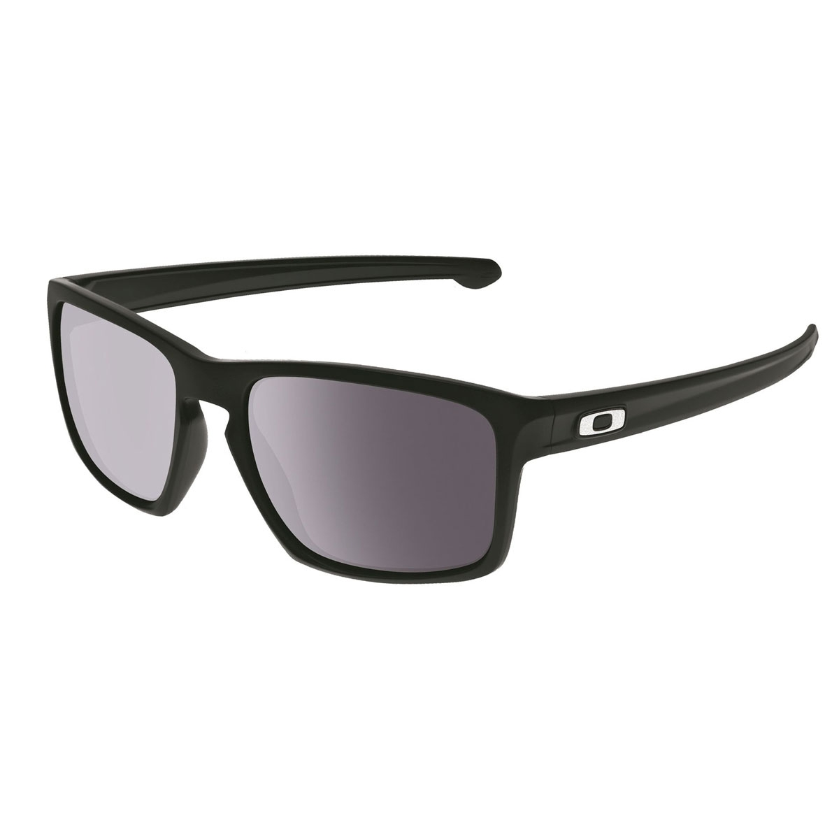 c12f0543ca7 Image of Oakley Sliver Sunglasses - Matte Black   Grey