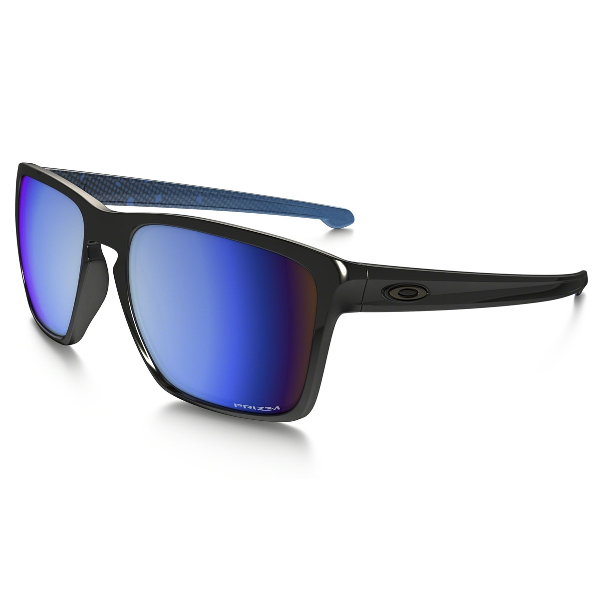 ee7eacdd30d Image of Oakley Sliver XL Prizm Deep Water Sunglasses - Polished Black   Prizm  Deep Water