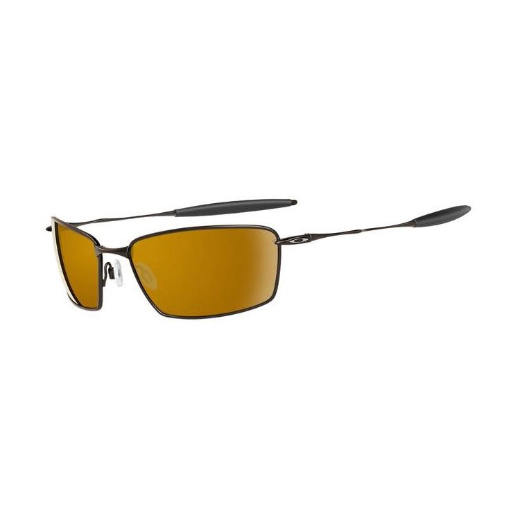 1cfa2fa0e22e Image of Oakley Square Whisker Sunglasses - Dark Brown (Frame) / Bronze ( Lens