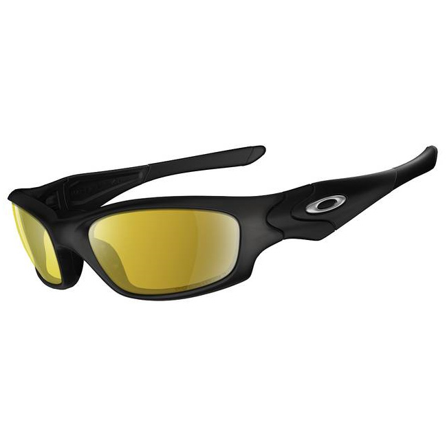 9227f729c55 Image of Oakley Polarized Straight Jacket Fishing Specific Sunglasses -  Matte Black (Frame)