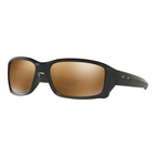 Image of Oakley Straightlink Prizm Polarised Sunglasses - Matte Black Frame/Prizm Tungsten Polarized Lens