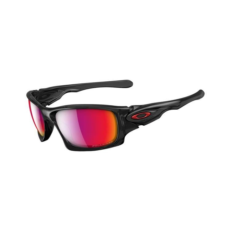 c39a7bde00 Image of Oakley Tens Men s Polarised Sunglasses - Black Ink   OO Red  Iridium Polarized