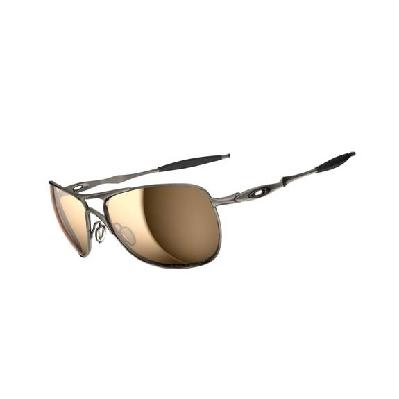 bb0aa1c11c Image of Oakley Titanium Crosshair Men s Polarized Sunglasses - Titanium   Tungsten  Iridium Polarized