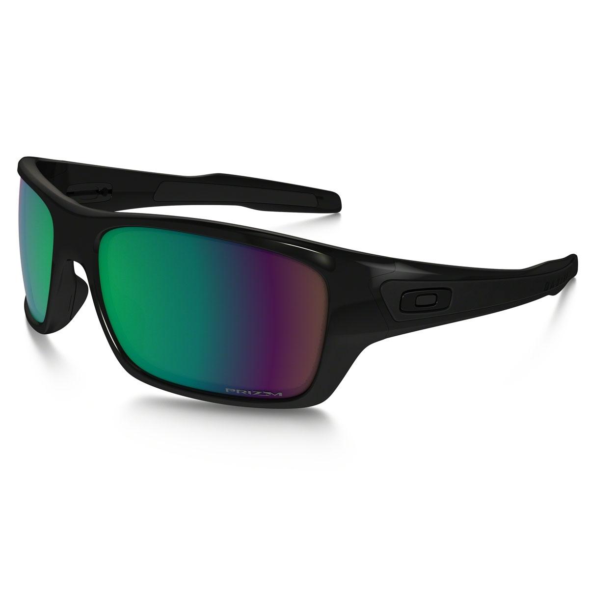 787d3ef014 Image of Oakley Turbine Sunglasses - Polished Black   Prizm Shallow Water  Polarized