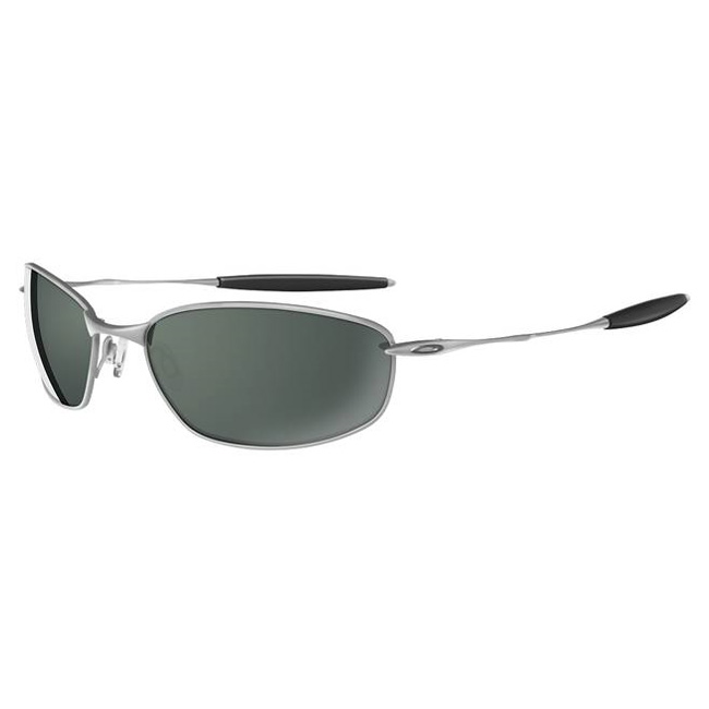 d02b95ad76 Image of Oakley Whisker Sunglasses - Silver (Frame)   Dark Grey (Lens)