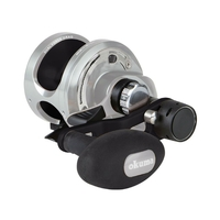 Okuma Andros A-12S Single Speed Boat Multiplier Reel - Narrow
