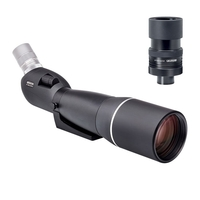 Opticron ES 100 GA ED/45 v4 Angled Spotting Scope With 27-80x SDL v3 Eyepiece