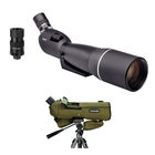 Image of Opticron ES 100 GA ED/45 v4 Angled Spotting Scope With 27-80x SDL v2 Eyepiece And Stay On Case