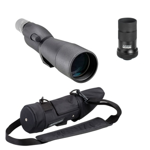 Image of Opticron IS 70 R Straight Spotting Scope with 20-60x Eyepiece and Stay on Case