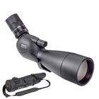 Image of Opticron MM4 77 GA ED Angled Spotting Scope With 18-54x SDL V2 Eyepiece And Stay On Case - Black