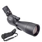 Image of Opticron MM4 77 GA ED Angled Spotting Scope With 18-54x SDL V2 Eyepiece And Stay On Case - Black