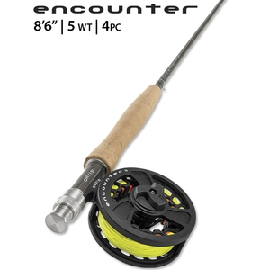 Image of Orvis 4 Piece Encounter Fly Rod Outfit - 8ft 6in