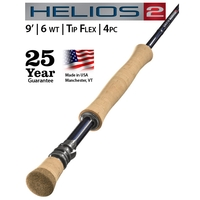 Orvis 4 Piece Helios 2.0 Tip Flex Saltwater Fly Rod - 9ft