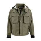 Image of Orvis Clearwater Packable Wading Jacket - Olive