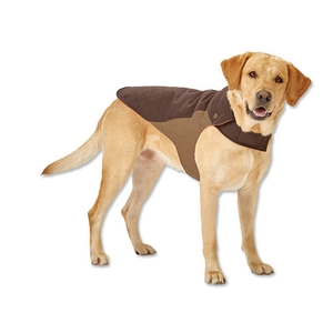 Image of Orvis Field Collection Dog Coat - Chocolate