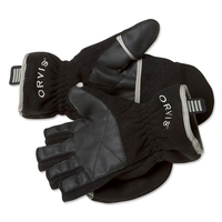 Orvis Fold-Over Fleece Convertible Gloves