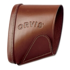 Image of Orvis Leather Recoil Sleeve And Pad - Brown