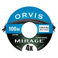 Orvis Mirage Fluorocarbon Tippet - 100m