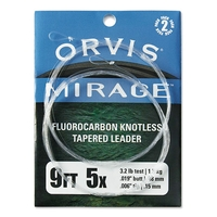 Orvis Mirage Knotless Leader 2 Pack - 9ft