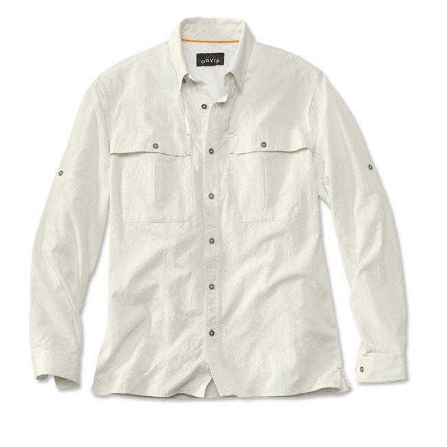 c84a072b83bb Image of Orvis Open Air Caster Long Sleeve Shirt (Men s) - White