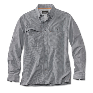Image of Orvis Open Air Caster Long Sleeve Shirt (Men's) - Navy