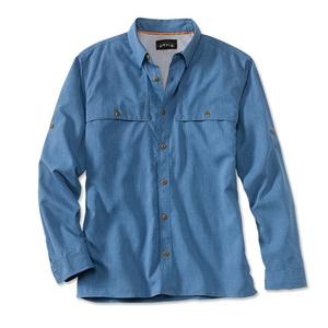 Image of Orvis Sandpoint Shirt (Men's) - Marine Blue