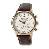 Orvis Vintage Rose Gold Chronograph