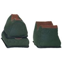 Outdoor Connection 3 Piece Bench Bag Set - Canvas / Faux Leather