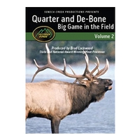 Outdoor Edge Quarter and De-bone Big Game in the Field: Vol.2