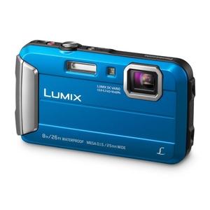 Image of Panasonic Lumix DMC-FT30 Waterproof Camera - Blue