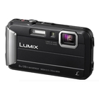 Image of Panasonic Lumix DMC-FT30 Waterproof Camera - Black