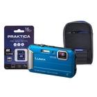 Panasonic Lumix DMC-FT30 Waterproof Camera Kit WIth 16GB SD Card And Case