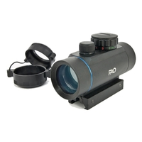 PAO 1x30 Red/Green Dot Sight (inc Weaver & Dovetail Mounts)