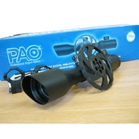 PAO Emerald 3-12x44 IR SWAT Rifle Scope