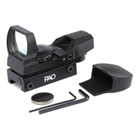 PAO Multi-Reticle Red/Green Reflex Pistol & Rifle Sight