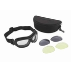 Image of Peltor Sentinel 3 Lens Tack Pack - Clear / Grey / Amber